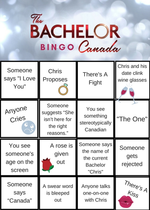 Drink If Bachelorette Game