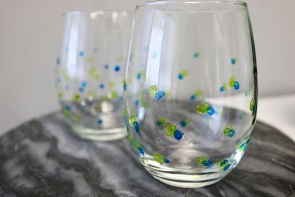 How To Bake Paint Onto Wine Glasses
