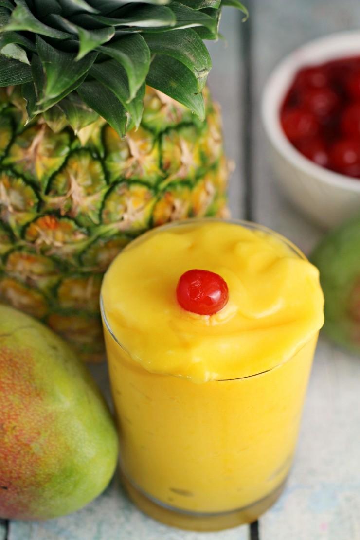 Mango Pineapple Tropical Slushie