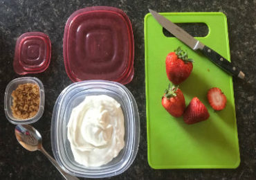 Simple Meal-Prep for a Girl on the Go