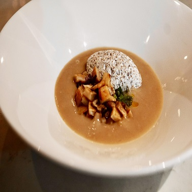 Roasted Winter Chestnut Soup